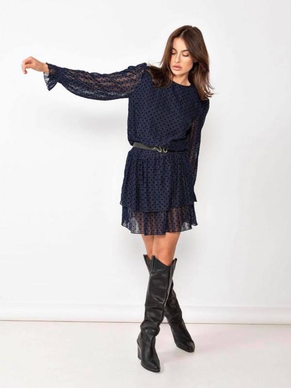 New arrivals jurk zwart aw20
