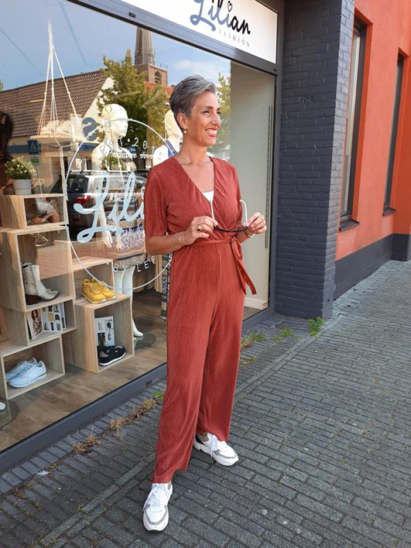 Na KD jumpsuit rood SS2020