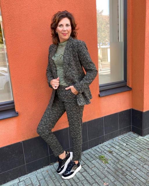 Milla Amsterdam broekpak groen aw20