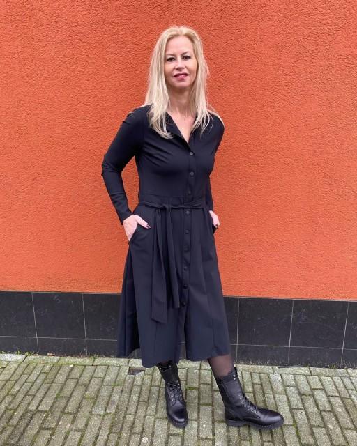 Zwarte jurk black dress